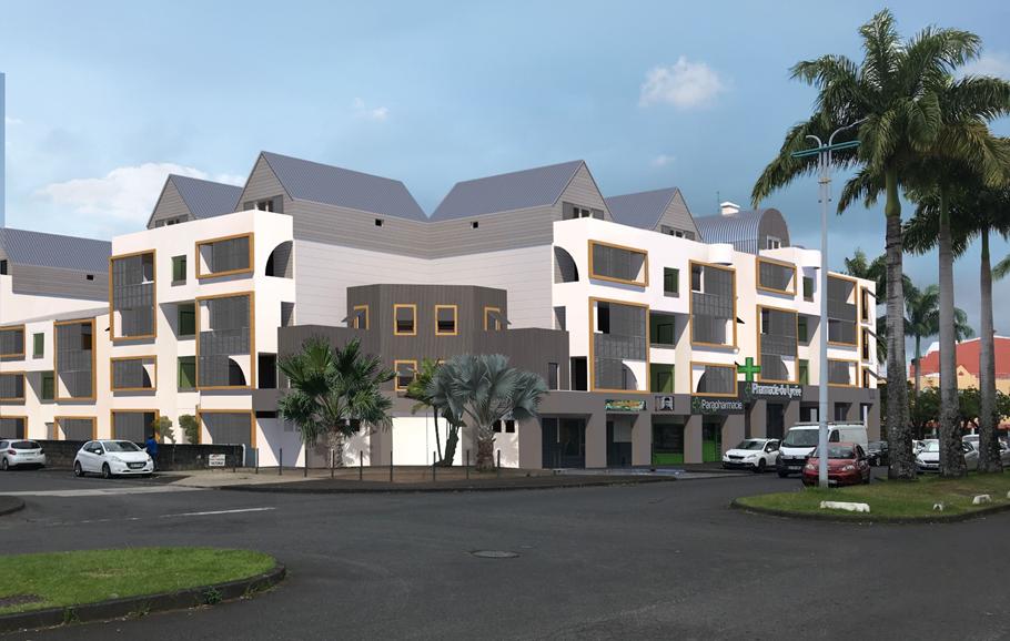 Image 3D de la Résidence Victoria à Saint-André