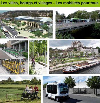 Photos des villes, bourgs et villages